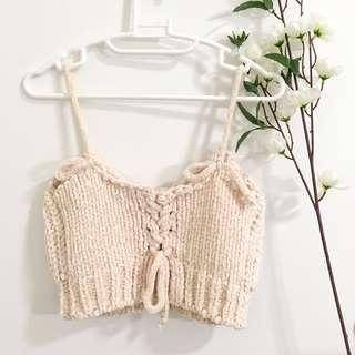 Stylenanda knitted crop top