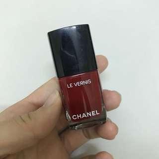Chanel指甲油 大紅色