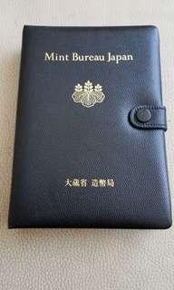 日本大藏省著幣局昭和最後一年63年紀念錢幣