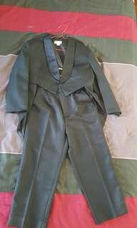 Tuxedo coat for boy