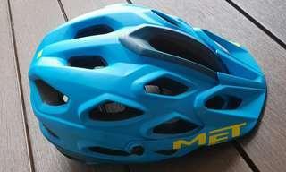MET Lupo Helmet with broken plastic clip
