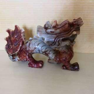Jade dragon (new)19cm length and 13 high