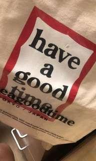 HAVE A GOOD TIEM TOTE BAG