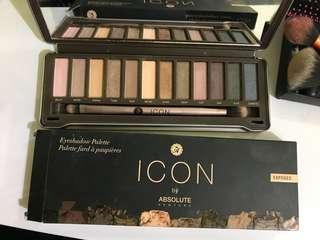 Jual preloved Eyeshadow palette Icon versi Expose