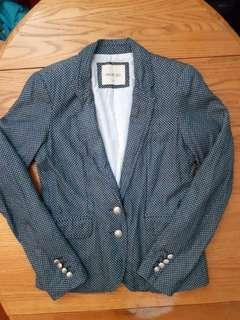 Polka dot blazer, size S
