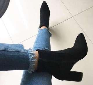 Heeled Boots - Size 10