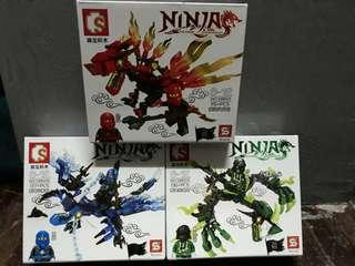 Ninja building blocks sma