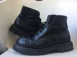 Gladiator Steel cap leather boots