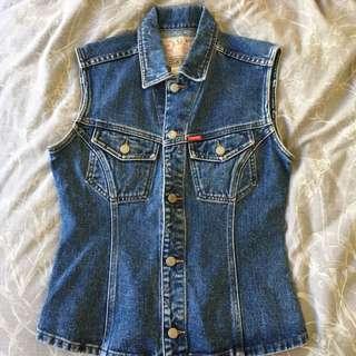 Esprit vintage denim vest jacket