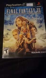 Final fantasy 12 ps2
