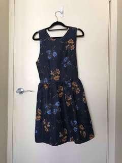 Blue dress mini