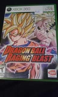 Dragonball raging blast xbox 360