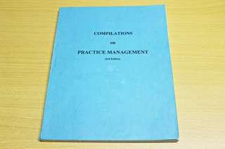 Compilation on Dental Practice Management 3rd Edition
