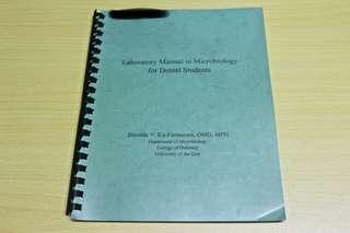 Laboratory Manual in Microbiology for Dental Students (Ku-Furmantes)