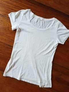 Forever21 Plain White T-Shirt