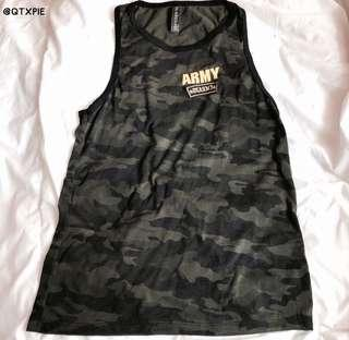 army tank top tee