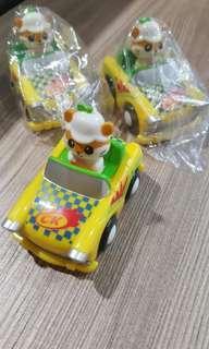 全新 sanrio 2001 ck鼠車仔 日本版 每個$199