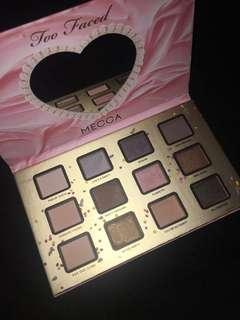 Mecca x too faced eyeshadow palette