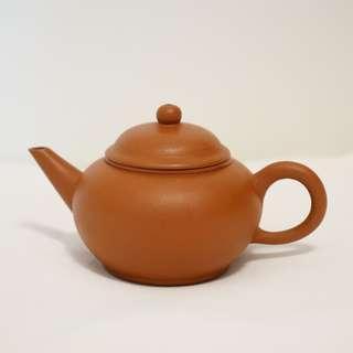 紫砂 茶壺 舊紅泥 水平壺 150cc (90年期後期紅泥)