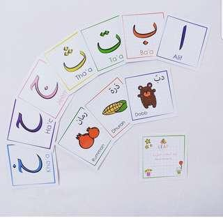 Write & Wipe Arabic Flashcards