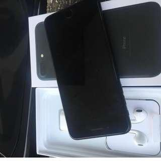 iPhone 7plus 256gb matteblack rush