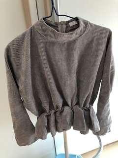 fifth 灰色長袖衫