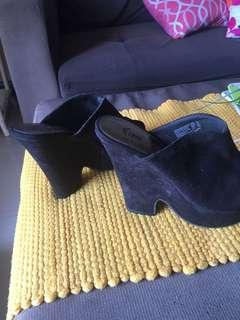 Pre loved Fioni Suede Wedge
