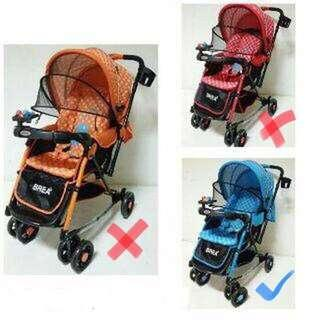 [NEW] Stroller Baby Does Brea2 2961 (BLUE)