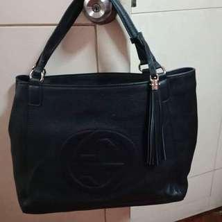 Pre Loved Gucci 2-way bag Large