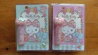 Hello Kitty 嫩色潤唇膏 蘋果 士多啤梨(草莓) 變色潤唇膏 #MTRkt