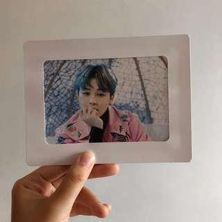 BTS THE WINGS TOUR MD JIMIN PAPER FRAME