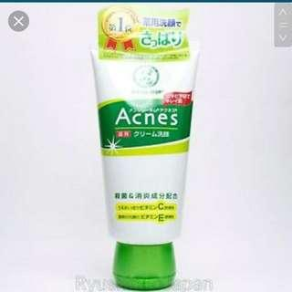 BRAND NEW Rohto Mentholatum Acne Care Facial Wash Foam