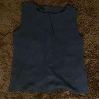 Navy women's shirt