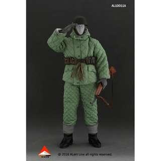 Alert Line 1/6th Wehrmacht Paratrooper Double-Sided Cotton-Padded Jacket Suit Set A