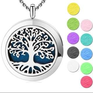 Tree of Life Pendant 30mm Aromatherapy