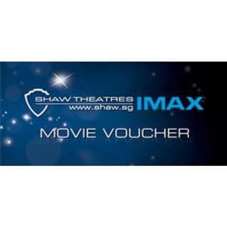 LAST DAY: SHAW IMAX Movie Voucher (Only 2 left!) U.P. $44 for 2