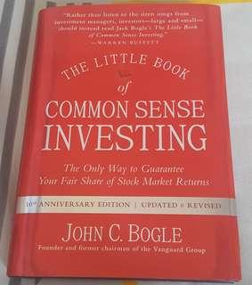 The Little Book of Common Sense Investing, 10th Anniversary Edition, Updated & Revised, by John C. Bogle