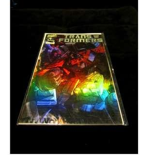 Transformers Dreamwave G1 Comics 2002 Vol #1 Issue #1 Limited Special Edition - Holofoil Chrome Cover (First Print Rare)