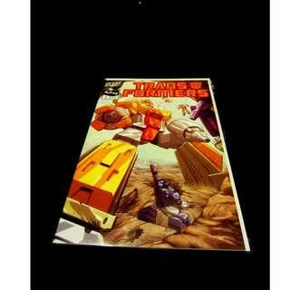 Transformers Dreamwave G1 Comics 2002 Vol #1 Issue #4 Limited Special Edition Variant - Omega Supreme Cover (First Print Rare)