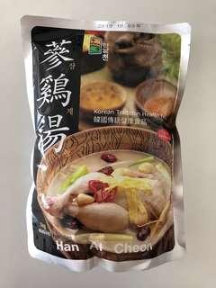 韓國 正宗 蔘雞湯 足料 加熱即食 懶人必備