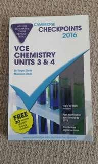 VCE Chemsitry Checkpoints