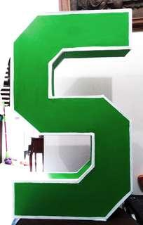 Letter Standee - School Art & Crafts
