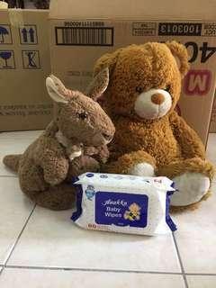 Large Soft toys (bundle of 2)