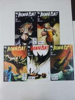 Man Bat (2006 3rd Series) Comics Set