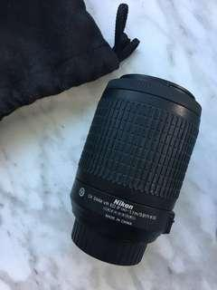 Nikon Dx Nikkor 55-200mm Lens