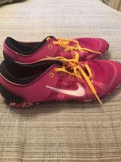 Nike Womens Runners - Pink Camo Mesh