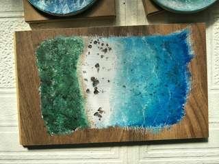 🚚 木板畫藝