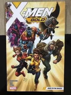 Marvel Comics X-Men Gold Vol 1: Back to the Basics