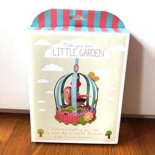 Make your own little garden craft set