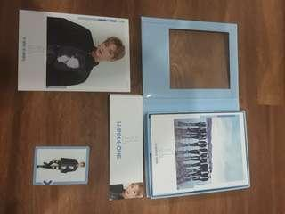 WTS WANNA ONE KANG DANIEL FULL SET TO BE ONE ALBUM